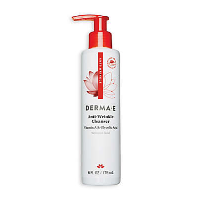 Derma E 6 fl. oz. Anti-Wrinkle Vitamin A and Glycolic Cleanser for Normal/Oily Skin