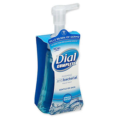 Dial® Complete® 7.5 fl. oz. Foaming Antibacterial Hand Wash in Spring Water