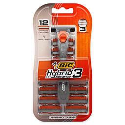 Bic® Hybrid 3 Advance Razor Set