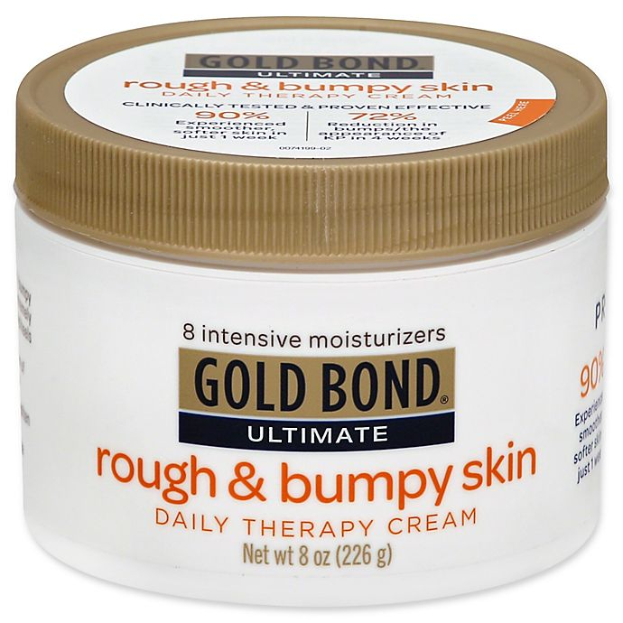 Alternate image 1 for Gold Bond® Ultimate 8 oz. Rough & Bumpy Skin Daily Therapy Cream