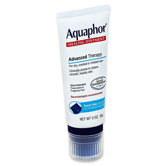 Alternate image 1 for Aquaphor® 3 oz. Advanced Therapy No-Touch Healing Ointment