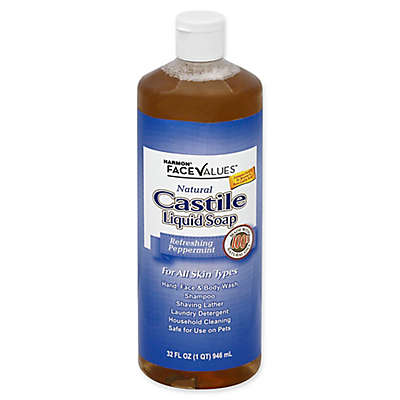 Harmon® Face Values® 32 fl. oz. Castile Liquid Soap in Refreshing Peppermint