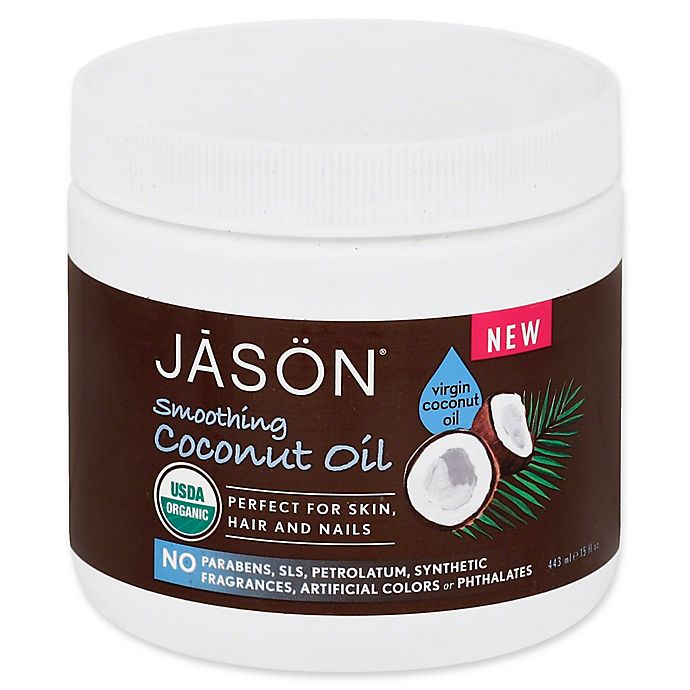 Alternate image 1 for Jason® Smoothing 15 fl. oz. Coconut Oil