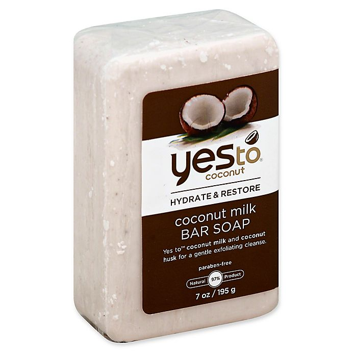 Alternate image 1 for Yes to® Coconut 7 oz. Coconut Milk Bar Soap