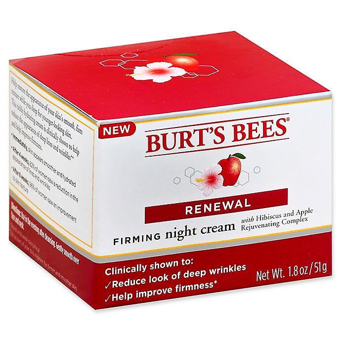 Alternate image 1 for Burt's Bees® 1.8 oz. Firming Night Cream