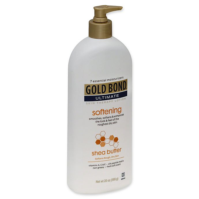Alternate image 1 for Gold Bond® 20 oz. Shea Butter Softening Skin Therapy Lotion