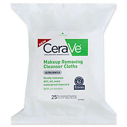 CeraVe® 25-Count Ultra Gentle Makeup Removing Cleanser Cloths