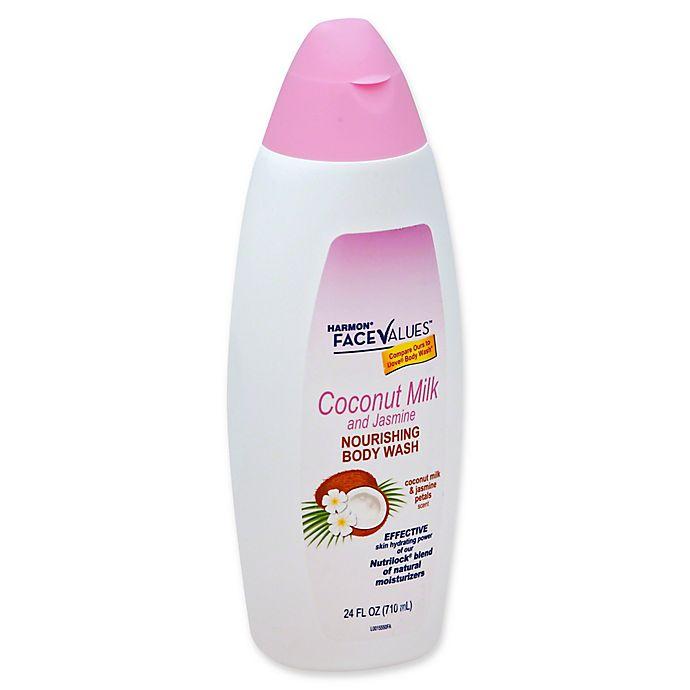 Harmon Face Values 24 Fl Oz Coconut Milk And Jasmine Nourishing Body Wash Bed Bath Beyond