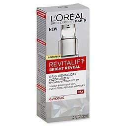 L'Oréal® Revitalift® Bright Reveal 1 fl. oz. Brightening Day Moisturizer with SPF 30