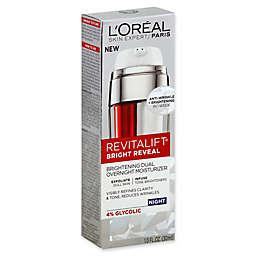 L'Oréal® Revitalift® Bright Reveal 1 fl. oz. Brightening Dual Overnight Moisturizer