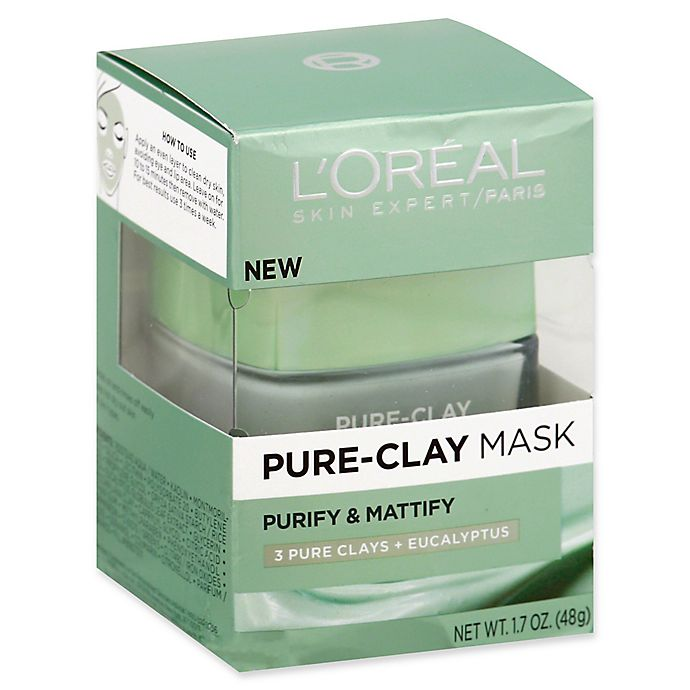 Alternate image 1 for L'Oréal® Skin Expert 1.7 oz. Purify & Mattify Pure-Clay Mask