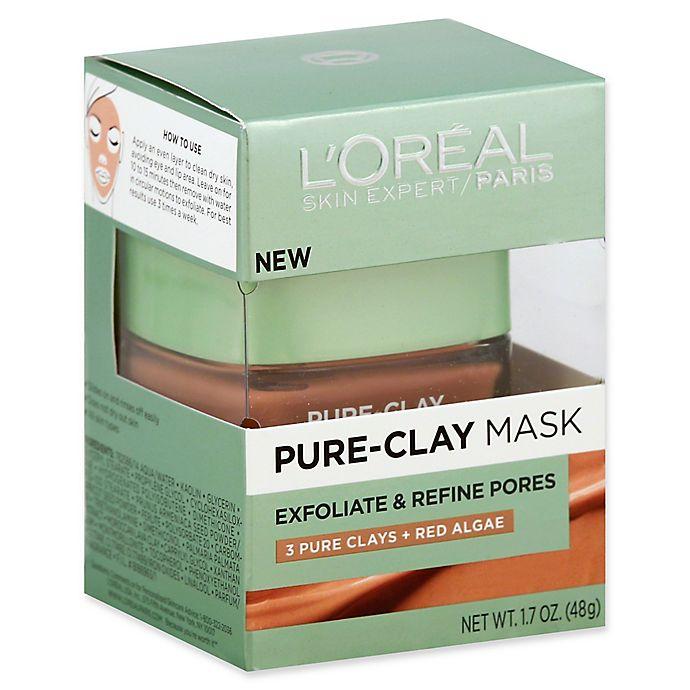 Alternate image 1 for L'Oréal® Skin Expert 1.7 oz. Exfoliate & Refine Pores Pure-Clay Mask