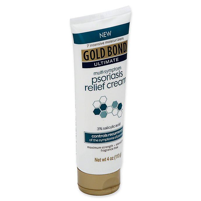 Alternate image 1 for Gold Bond® Ultimate 4 oz. Multi-Symptom Psoriasis Relief Cream