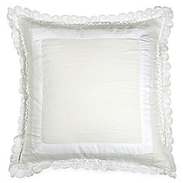 Wamsutta® Vintage Gauze Double Ruffle Square Throw Pillow