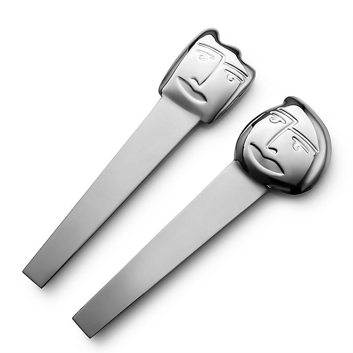 Alternate image 1 for Carrol Boyes Face Off Small Salad Servers