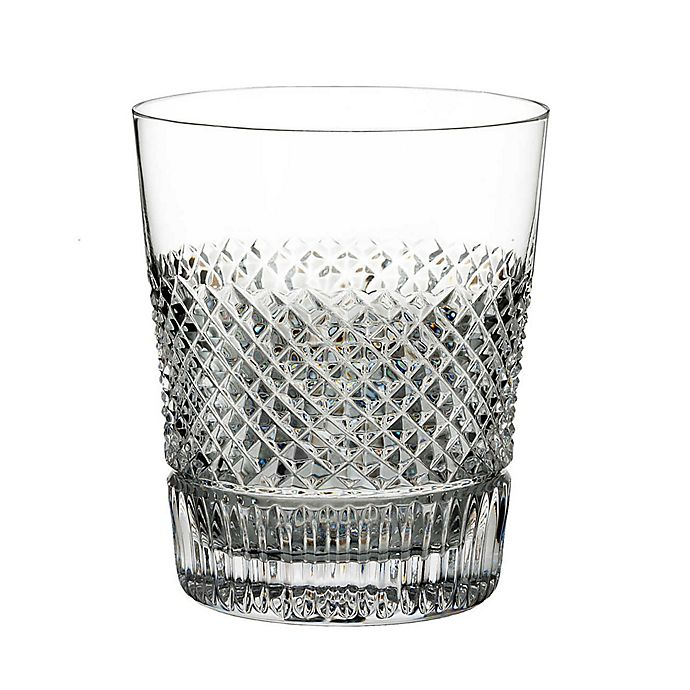 Alternate image 1 for Waterford® Diamond Line Double Old Fashioned Glasses (Set of 2)