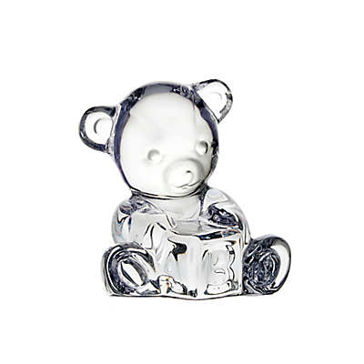 Waterford® Giftology Collection Baby Bear with Block Figurine