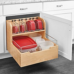 Rev-A-Shelf Food Storage Container Organizer