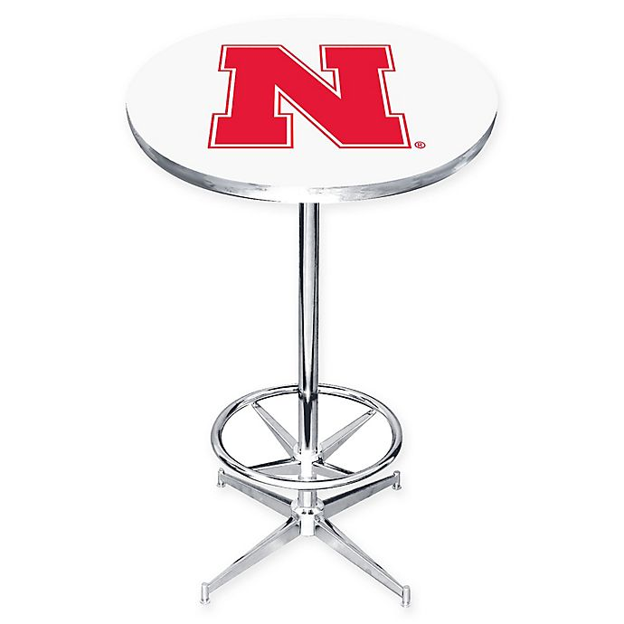 Alternate image 1 for University of Nebraska Pub Table