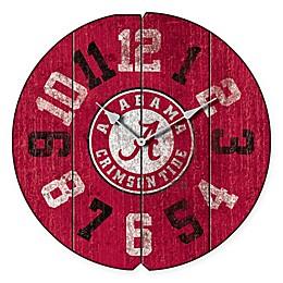 University of Alabama Vintage Round Wall Clock