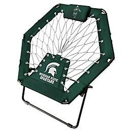 Michigan State University Premium Bungee Chair in Green