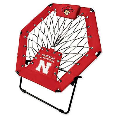 University of Nebraska Premium Bungee Chair in Red