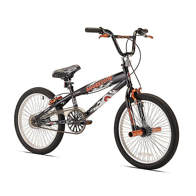 Alternate image 1 for Razor Aggressor BMX 20-Inch Boy's Bicycle in Black