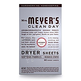 Mrs. Meyer's® Clean Day Lavender 80-Count Dryer Sheets