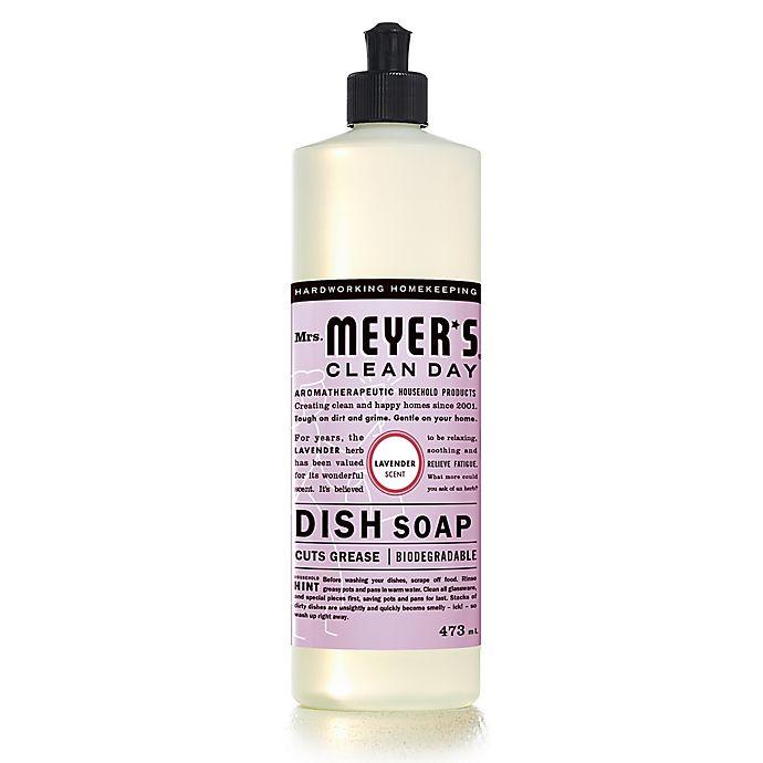 Alternate image 1 for Mrs. Meyer's® Clean Day Lavender 473 ml Dish Soap