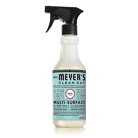 Alternate image 1 for Mrs. Meyer's® Clean Day Aromatherapeutic Basil 473 mL Multi-Surface Everyday Cleaner