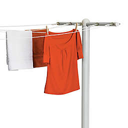 Honey-Can-Do® 5-Line Outdoor Clothes Drying Pole in White