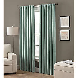 Grayson 108-Inch Rod Pocket/Back Tab Window Curtain Panel in Spruce (Single)