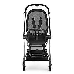CYBEX Platinum MIOS Stroller Frame And Seat In Black Chrome