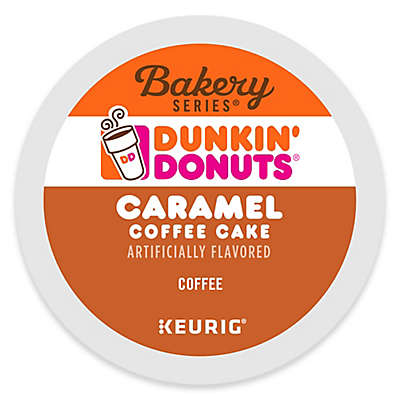 Keurig® K-Cup® Pack 16-Count Dunkin' Donuts® Caramel Coffee Cake Coffee