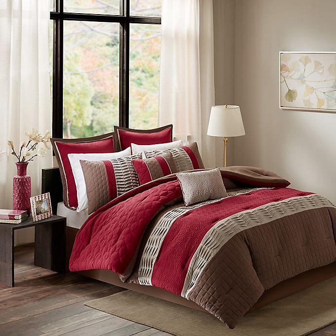 Madison Park Roslynn Comforter Set Bed Bath Amp Beyond