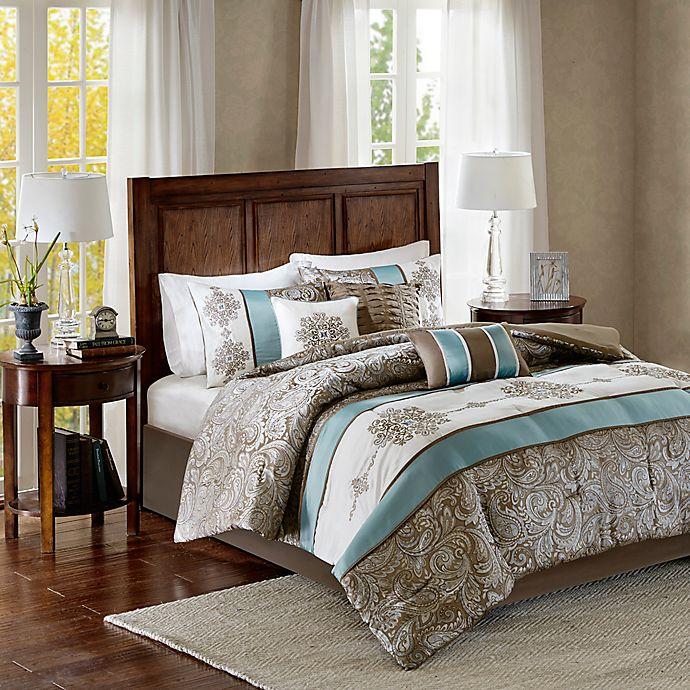 Madison Park Caroline Comforter Set Bed Bath Amp Beyond