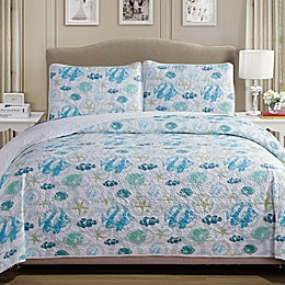 Panama Jack® Fish Reversible Quilt Set