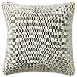 Highline Bedding Co. Driftwood Knit Square Throw Pillow