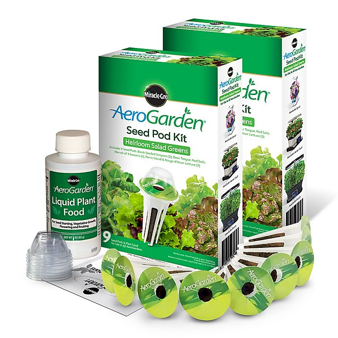 Miracle-Gro® AeroGarden™ 2-Pack 9-Pod Heirloom Salad Greens