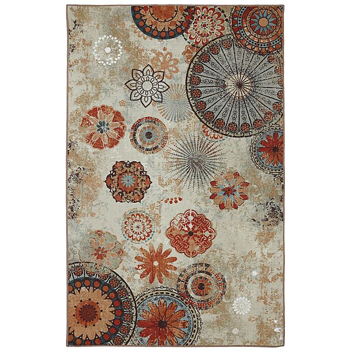 Alexa Medallion Indoor/Outdoor Area Rug