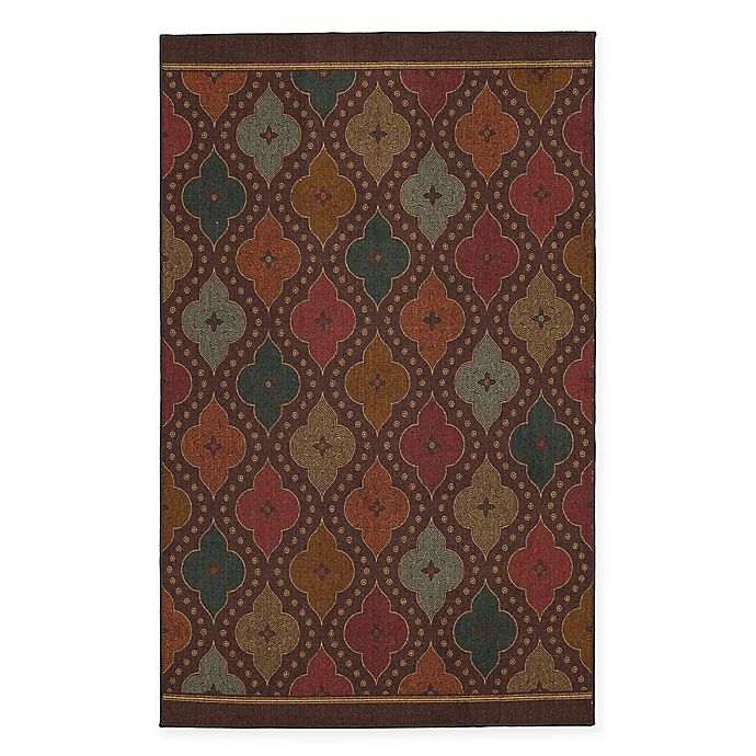 Mohawk Home Traditional Jewel Rug: Mohawk Home Jewel Medallion Area Rug In Garden