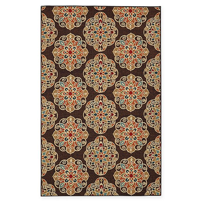 Alternate image 1 for Mohawk Home Kolam 5-Foot x 7-Foot Multicolor Area Rug