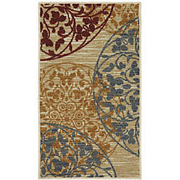 Mohawk Home Medallones Garden 1-Foot 6-Inch x 2-Foot 6-Inch Accent Rug