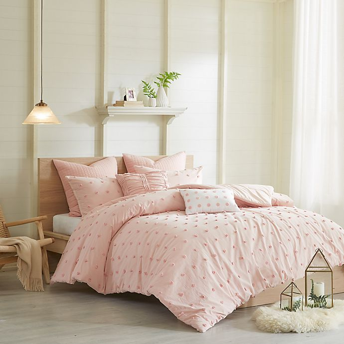 Alternate image 1 for Urban Habitat Brooklyn Full/Queen Comforter Set in Pink
