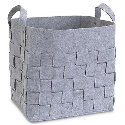 ED Ellen DeGeneres Starry Night Felt Storage Basket in Grey