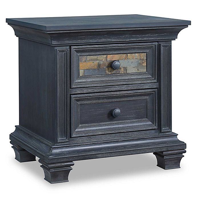 Alternate image 1 for Soho Baby Stone Hill Nightstand in Smoke Grey