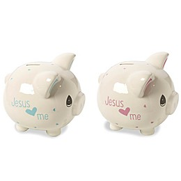 Precious Moments® Jesus Loves Me Piggy Bank