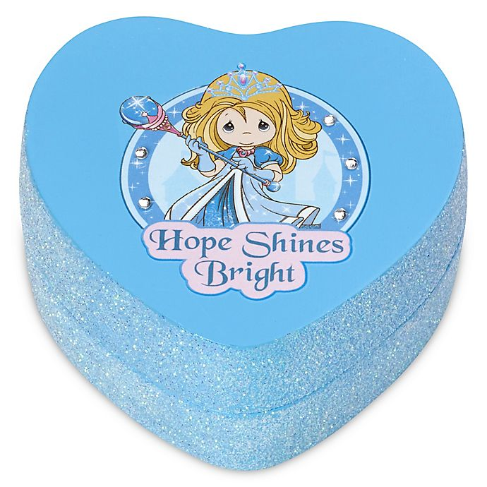 Alternate image 1 for Precious Moments® Pretty as a Princess Heart-Shaped \