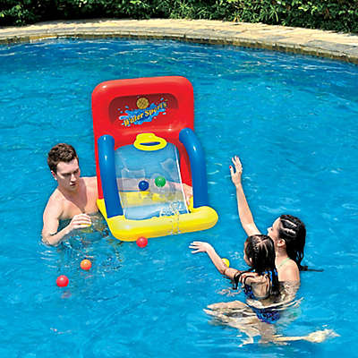 Pool Central Water Sports Basketball Shooting Game