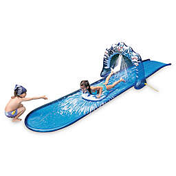 Pool Central Ground Level Water Slide in Blue
